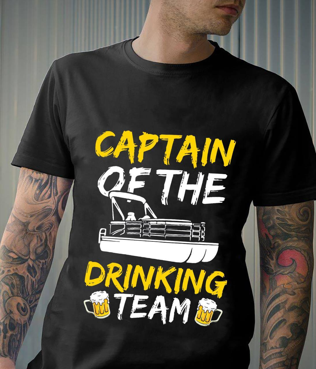 Captain Of The Drinking Team Shirt